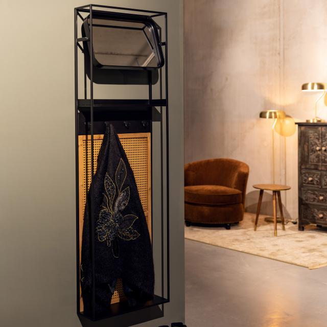 Dutchbone Langres Wandspiegel mit Garderobe