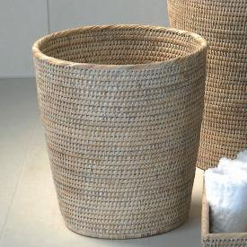 Decor Walther BASKET PK Papierkorb rattan hell
