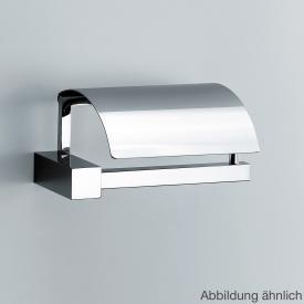 Decor Walther CO TPH4 Toilettenpapierhalter mit Deckel nickel satiniert