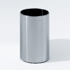 Decor Walther DW 104 Papierkorb edelstahl gebürstet