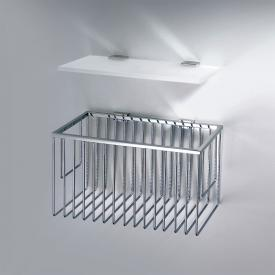 Decor Walther Gästetuchablage und Korb Set 2-teilig chrom