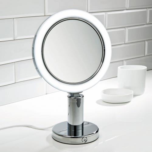 decor walther bs 12 v stand kosmetikspiegel led beleuchtung 0117800 reuter. Black Bedroom Furniture Sets. Home Design Ideas