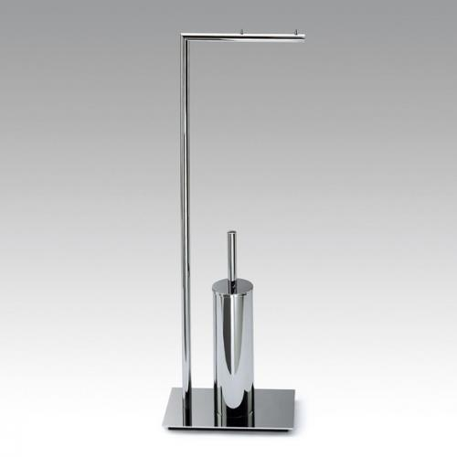 Decor Walther Straight 6 WC Kombination mit Papierhalter chrom