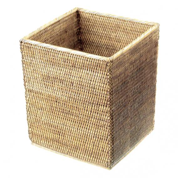 Decor Walther BASKET QK Papierkorb rattan hell