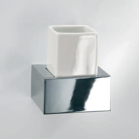 Decor Walther BK WMG Wandmundglas chrom/weiß
