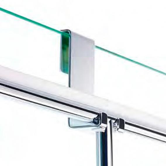 Decor Walther DH2 Haken für Glasduschabtrennung chrom