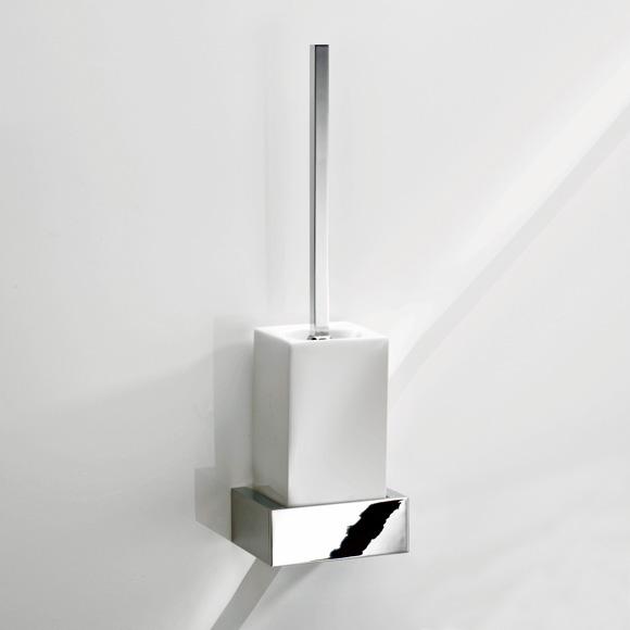 Decor Walther BK WBG Wand WC Bürstengarnitur chrom/weiß