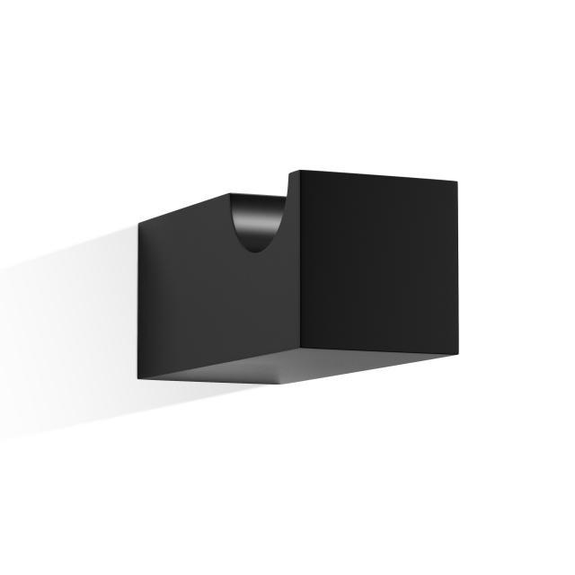 Decor Walther CO HAK4 Bademantelhaken schwarz matt