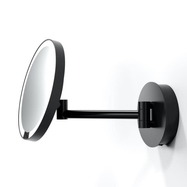 Decor Walther JUST LOOK WD LED Sensor Wandkosmetikspiegel Direktanschluss schwarz matt