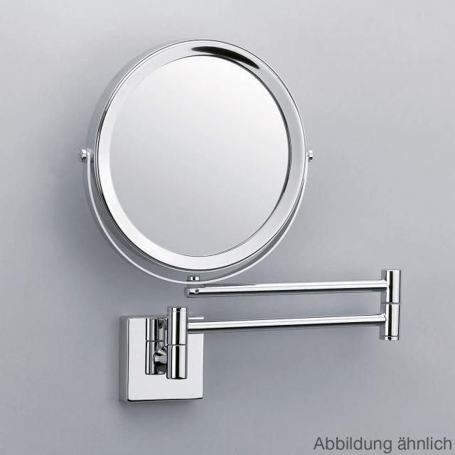 Decor Walther SP 28/2/V Wand-Kosmetikspiegel, 5-fache Vergrößerung nickel satiniert