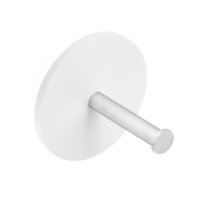 Decor Walther STONE TPH1 Toilettenpapier-Ersatzrollenhalter weiß matt/edelstahl matt