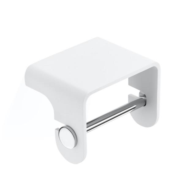 Decor Walther STONE TPH4 Toilettenpapierhalter weiß matt/chrom