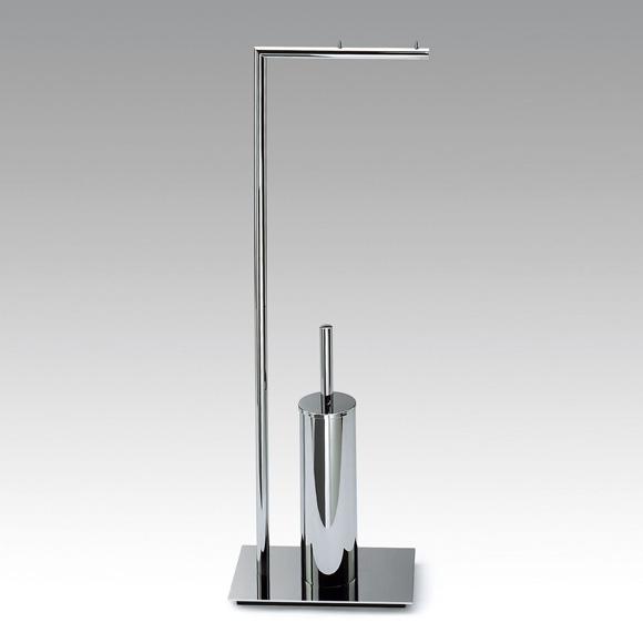 Decor Walther Straight 6 WC-Kombination mit Papierhalter nickel satiniert