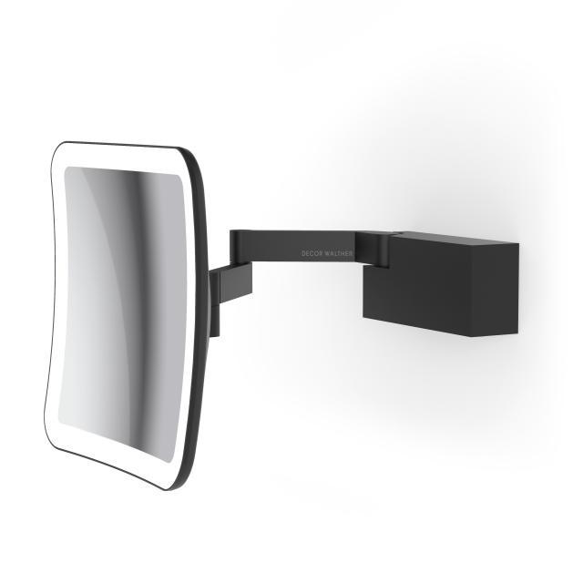 Decor Walther VISION S LED Rasier- und Kosmetikspiegel schwarz matt