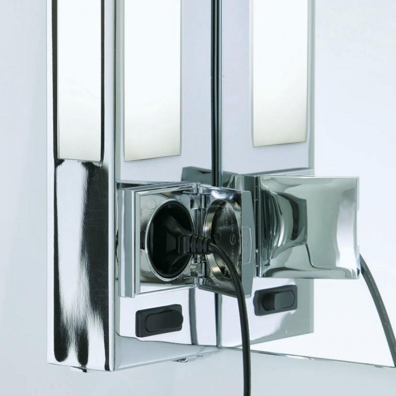 decor walther bloc wandleuchte mit schalter und steckdose. Black Bedroom Furniture Sets. Home Design Ideas
