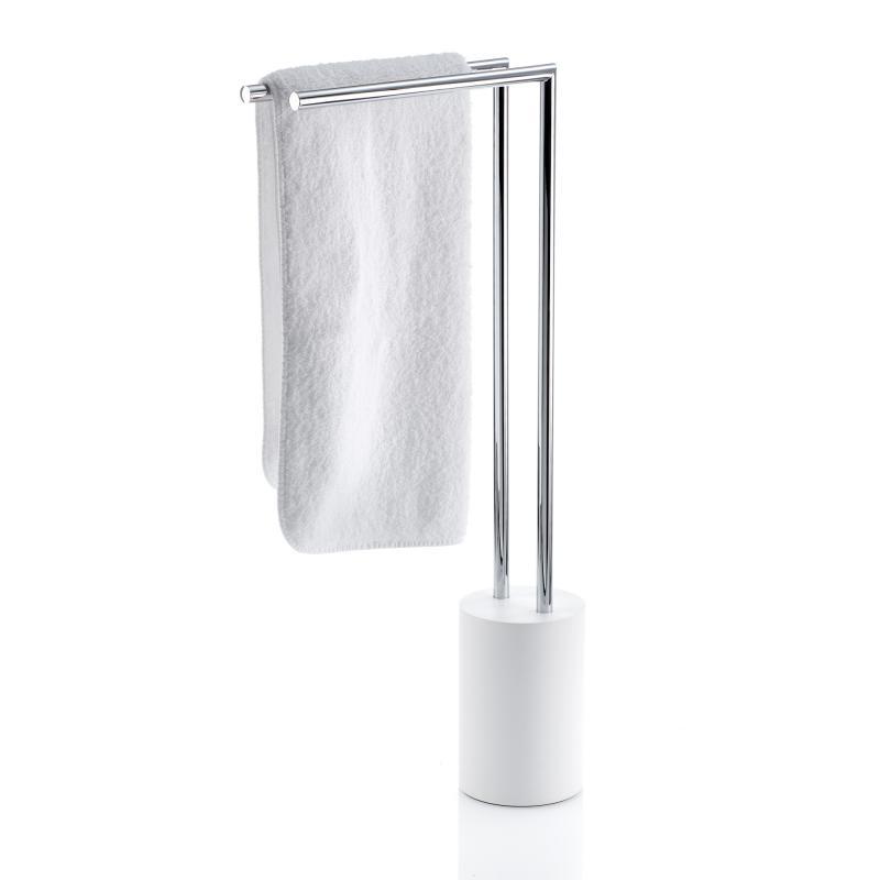 Decor Walther STONE SBG WC-Bürstengarnitur Chrom Mineralguß weiß matt
