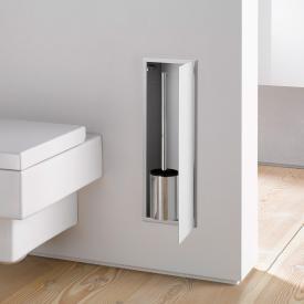 Emco Asis 2.0 Unterputz-Toilettenbürstengarnitur-Modul optiwhite
