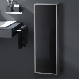 Emco Asis Aufputz-Schrankmodul aluminium/schwarz