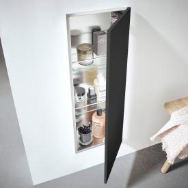 Emco Asis Pure Unterputz-Schrankmodul schwarz matt