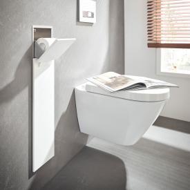 Emco Asis Pure Unterputz-WC-Modul mit Ersatzrollenfach weiß matt
