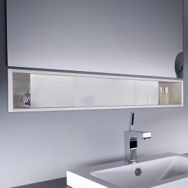 Emco Asis Unterputz-Ablagemodule satiniert/aluminium