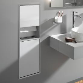 Emco Asis Unterputz-Kosmetikmodul aluminium/optiwhite