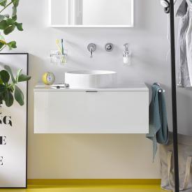 Emco Asis Waschtisch mit Schublade optiwhite