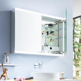 Emco Evo Aufputz Spiegelschrank mit LED-Beleuchtung mit light system, mit Spiegelheizung