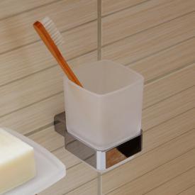 Emco Loft Glashalter miit Glas chrom