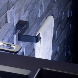 Emco Loft Handtuchring, starr schwarz matt