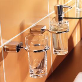 Emco Logo2 Glashalter mit Glas aus Kristallglas