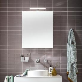 Emco Mee Aufputz LED-Lichtspiegelschrank, 1 Tür