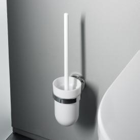 Emco Polo Toilettenbürstengarnitur, Behälter Kunststoff