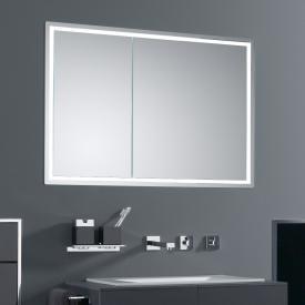 Emco Prestige Unterputz-Lichtspiegelschrank breite Tür rechts