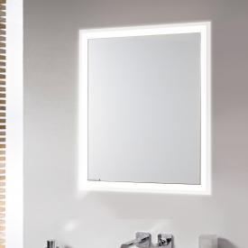Emco Prime Unterputz LED-Lichtspiegelschrank aluminium/verspiegelt
