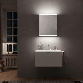Emco Prime2 Aufputz LED-Lichtspiegelschrank, 1 Tür