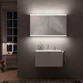 Emco Prime2 Aufputz LED-Lichtspiegelschrank, 2 Türen