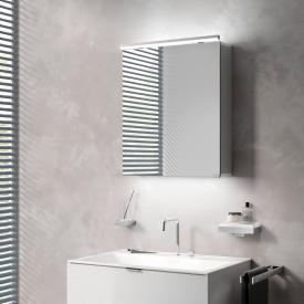 Emco Pure Aufputz Lichtspiegelschrank mit Waschtischbeleuchtung