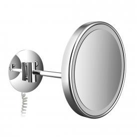 Emco Pure LED Rasier- und Kosmetikspiegel mit Spiralkabel
