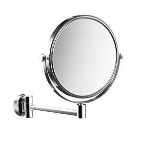 Emco Pure Rasier- und Kosmetikspiegel, Wandmodell chrom