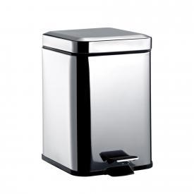 Emco System2 eckiger Abfallbehälter mit Deckel