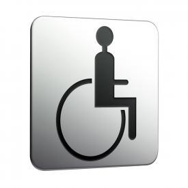 "Emco System2 Türschild ""Rollstuhlfahrer"""