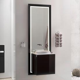 Emco Touch Möbelanlage schwarz/schwarz