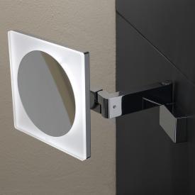 Emco Universal LED Rasier- und Kosmetikspiegel, Direktanschluss, Vergrößerung 5-fach
