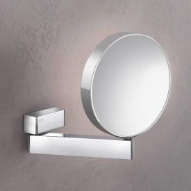 Emco Universal Rasier- und Kosmetikspiegel, rund, Wandmodell chrom