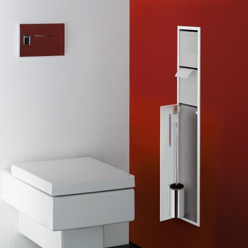 emco asis unterputz wc modul optiwhite chrom 975027850 reuter. Black Bedroom Furniture Sets. Home Design Ideas