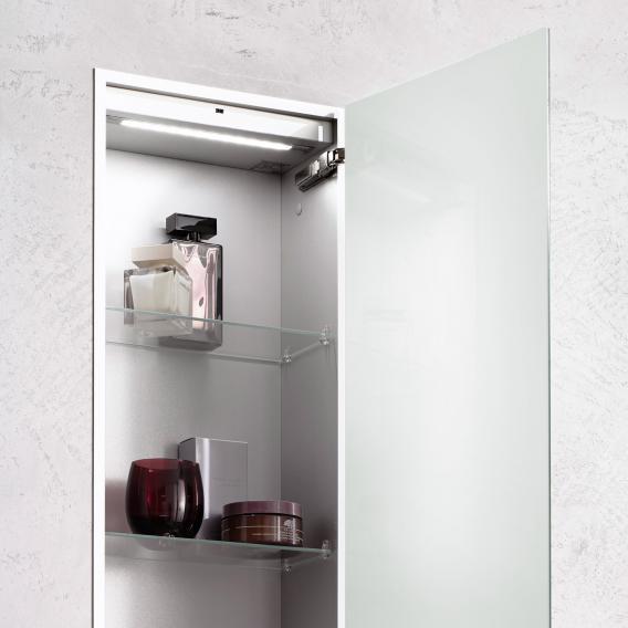 Emco Asis 2.0 Unterputz-Schrankmodul aluminium/optiwhite
