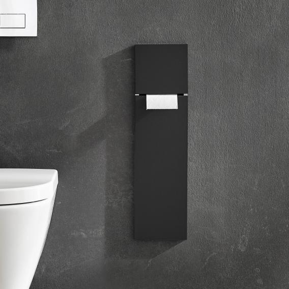 Emco Asis Pure Unterputz-WC-Modul schwarz matt