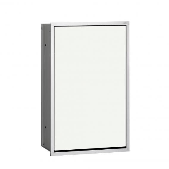 Emco Asis Unterputz-Abfallsammler-Modul optiwhite/aluminium
