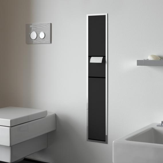 emco asis unterputz g ste wc modul schwarz chrom 976027970 reuter. Black Bedroom Furniture Sets. Home Design Ideas